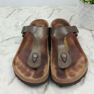 797c5f484019 Birkenstock Shoes - Birkenstock Gizeh Graceful toffee thong sandal 38